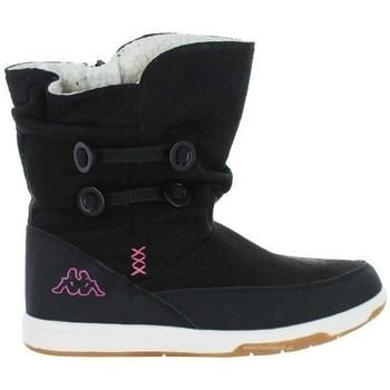 kengät Lapset Talvisaappaat Kappa Cream Mustat