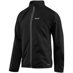 vaatteet Miehet Takit Reebok Sport Active Shell Mustat