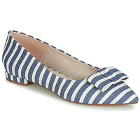 kengät Naiset Balleriinat Fericelli JILONOU Blue / White