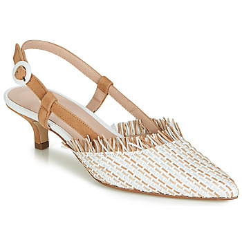 kengät Naiset Korkokengät Fericelli JOLOIE Beige