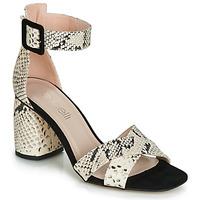 kengät Naiset Sandaalit ja avokkaat Fericelli JEZI White / Black