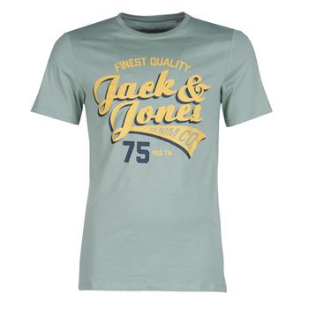 vaatteet Miehet Lyhythihainen t-paita Jack & Jones JJELOGO Green