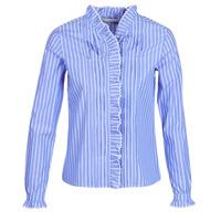 vaatteet Naiset Paitapusero / Kauluspaita Maison Scotch LONG SLEEVES SHIRT Blue / Clair
