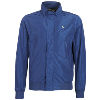 vaatteet Miehet Pusakka Scotch & Soda AMS BLAUW SIMPLE HARRINGTON JACKET Laivastonsininen