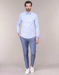 vaatteet Miehet Chino-housut / Porkkanahousut Scotch & Soda RALSTONO Sininen