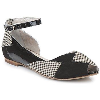 kengät Naiset Balleriinat Mosquitos DELICE Black
