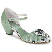 kengät Naiset Sandaalit ja avokkaat Mosquitos AMICALE Green / Water