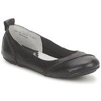 kengät Naiset Balleriinat Hush puppies JANESSA Black