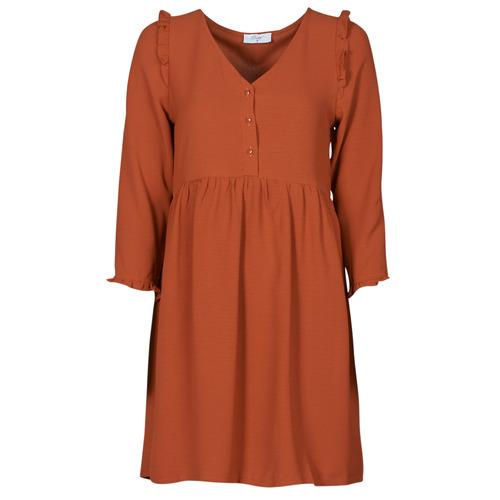 vaatteet Naiset Lyhyt mekko Betty London JABALA Brown