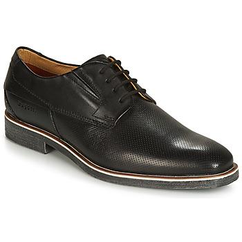 kengät Miehet Derby-kengät Bugatti TOUZEN Black