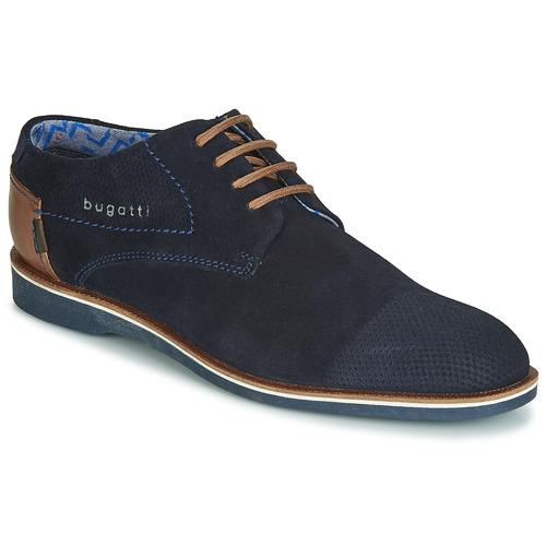 kengät Miehet Derby-kengät Bugatti TOUZETTE Blue