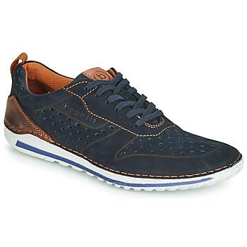 kengät Miehet Matalavartiset tennarit Bugatti TIPPO Blue