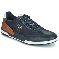 kengät Miehet Matalavartiset tennarit Bugatti TIPPA Blue