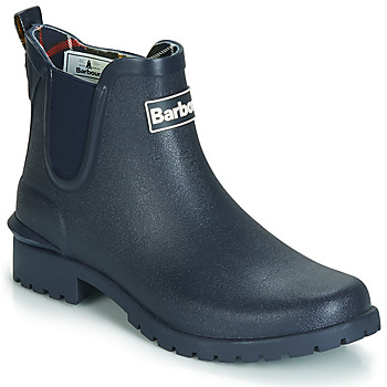kengät Naiset Kumisaappaat Barbour WILTON Blue