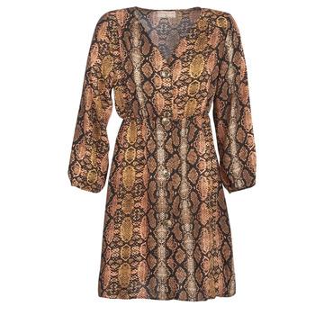 vaatteet Naiset Lyhyt mekko Moony Mood KOUJUK Monivärinen