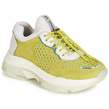 kengät Naiset Matalavartiset tennarit Bronx BAISLEY Yellow
