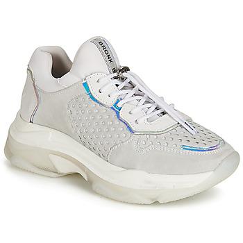kengät Naiset Matalavartiset tennarit Bronx BAISLEY Grey
