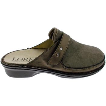 kengät Naiset Puukengät Calzaturificio Loren LOM2741ta tortora