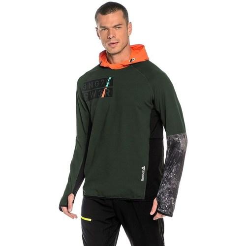 vaatteet Miehet Svetari Reebok Sport DT Stretch Oth Z Vihreät, Oranssin väriset