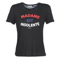 vaatteet Naiset Lyhythihainen t-paita Kaporal FACTO Black