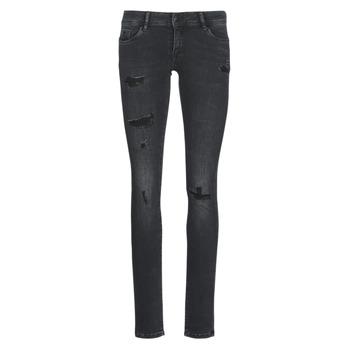 vaatteet Naiset Slim-farkut Kaporal LOKA Black