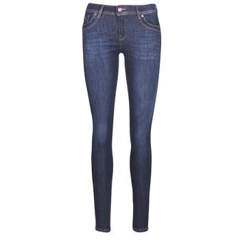 vaatteet Naiset Slim-farkut Kaporal SATIN Blue