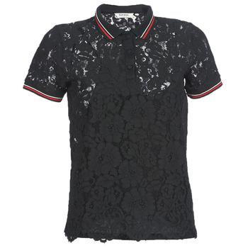 vaatteet Naiset Lyhythihainen poolopaita Kaporal BRIKS Black