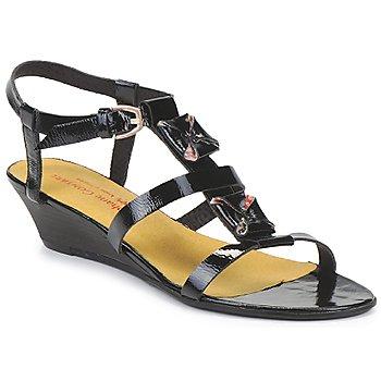 kengät Naiset Sandaalit ja avokkaat Stephane Gontard MALIBU Black