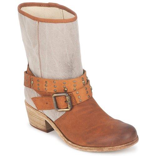 kengät Naiset Saappaat Ikks INES Brown / Taupe