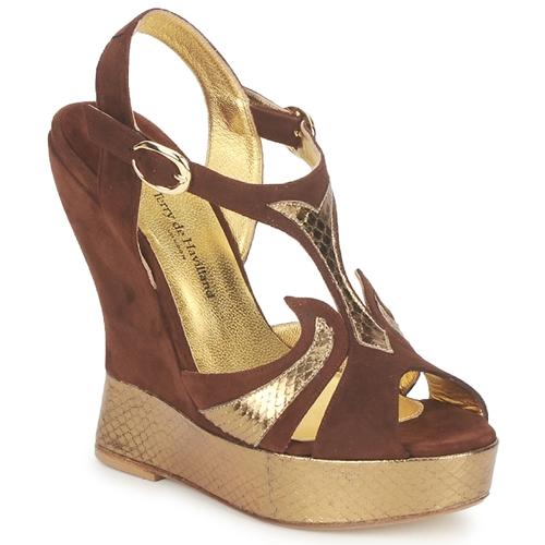kengät Naiset Sandaalit ja avokkaat Terry de Havilland FARAH Chocolat