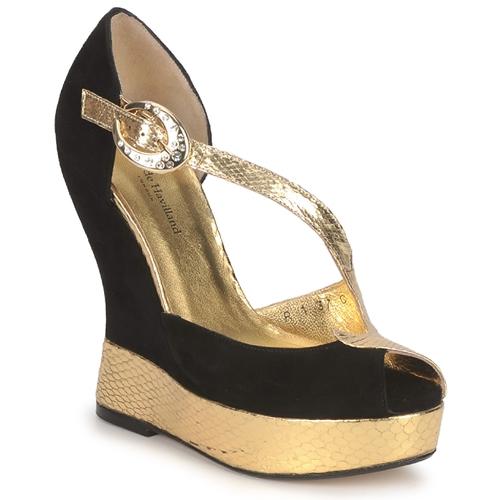 kengät Naiset Sandaalit ja avokkaat Terry de Havilland PENNY Garden Noir