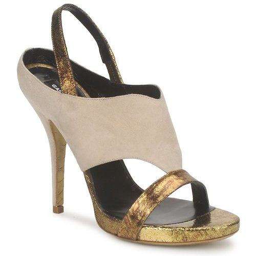 kengät Naiset Sandaalit ja avokkaat Gaspard Yurkievich T4 VAR8 Beige / Kulta