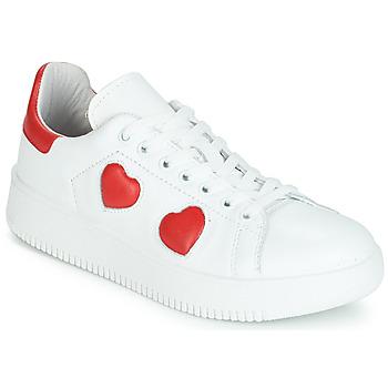 kengät Naiset Matalavartiset tennarit Yurban JIBOUILLE White