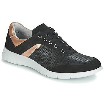 kengät Naiset Matalavartiset tennarit Yurban JEBELLE Black