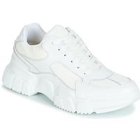 kengät Naiset Matalavartiset tennarit Yurban JILIBELLE White