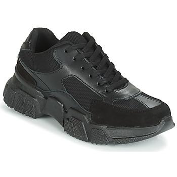 kengät Naiset Matalavartiset tennarit Yurban JILIBELLE Musta