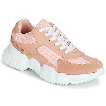 kengät Naiset Matalavartiset tennarit Yurban JILIBELLE Vaaleanpunainen