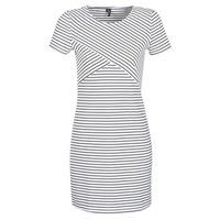 vaatteet Naiset Lyhyt mekko Vero Moda VMVIGGA White / Black