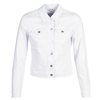 vaatteet Naiset Farkkutakki Vero Moda VMHOT SOYA White