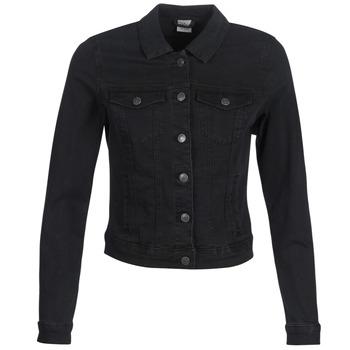 vaatteet Naiset Farkkutakki Vero Moda VMHOT SOYA Black