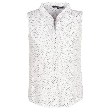vaatteet Naiset Topit / Puserot Vero Moda VMERIKA White / Black