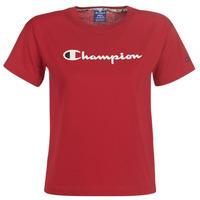 vaatteet Naiset Lyhythihainen t-paita Champion 111393-RIR Bordeaux