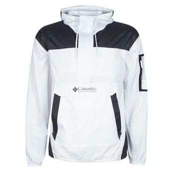 vaatteet Miehet Tuulitakit Columbia CHALLENGER WINDBREAKER White / Black