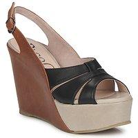 kengät Naiset Sandaalit ja avokkaat Paco Gil RITMO SELV Camel / Black