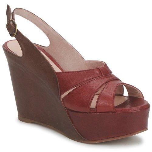 kengät Naiset Sandaalit ja avokkaat Paco Gil RITMO SELV Camel / Bordeaux