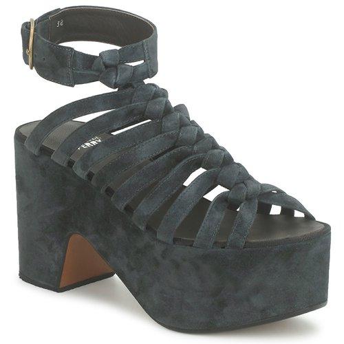 kengät Naiset Sandaalit ja avokkaat Michel Perry 12676 Pimeä
