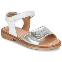 kengät Tytöt Sandaalit ja avokkaat Aster TRIXY Hopea