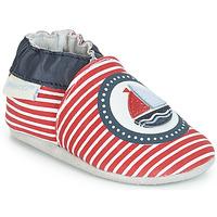kengät Pojat Vauvan tossut Robeez MY CAPTAIN Red / Blue / White