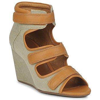 kengät Naiset Sandaalit ja avokkaat No Name DIVA STRAPS BEIGE