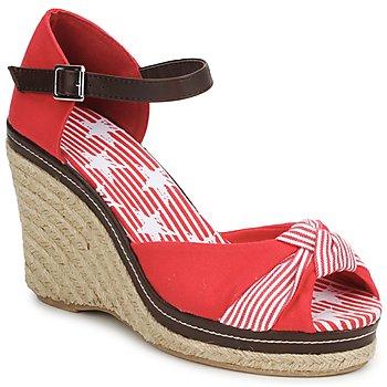 kengät Naiset Sandaalit ja avokkaat StylistClick PATTY Red